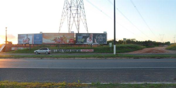 Placa 43: Rodovia BR-101, trevo de Alagoinhas/Araçás (entrada da cidade) 2