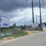 Placa 44: Rodovia BR-101, trevo de Alagoinhas/Araçás (entrada da cidade) 3