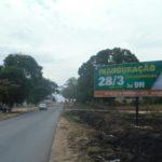 Placa 46: Rodovia BA-504, Estrada p/ Araçás (sentido Alagoinhas)