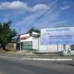 Placa 47: Bairro Teresópolis, viaduto (sentido comércio)