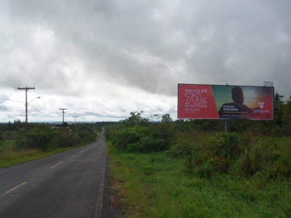 Placa 51: Rua Aristóteles Dantas, Bairro Mangalô (sentido entrada)