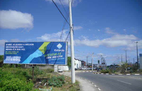 Placa 14: Av. Joseph Wagner, próxima da Paraguassu Veículos 1 (sentido entrada)
