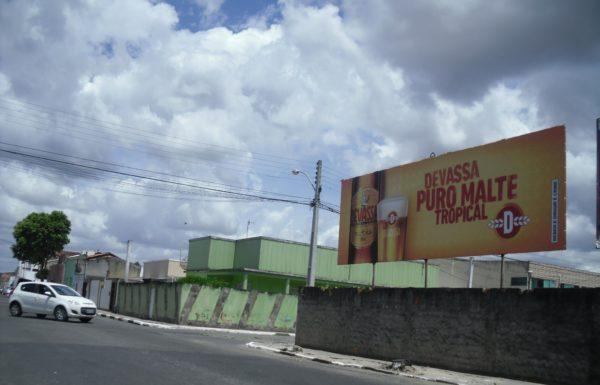 Placa 20: Rua Severino Vieira, próxima do Banco do Brasil