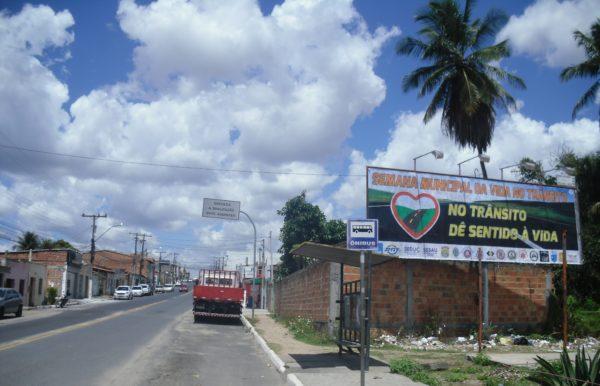 Placa 30: Rua Conselheiro Dantas, próxima da Arates Distribuidora de bebidas