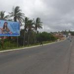 Placa 31: Rua Paulo Afonso, próxima da Isnark Car (entrada da cidade)