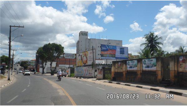 Placa 36: Avenida Dantas Bião, Próximo Hotel Áster