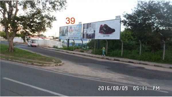 Placa 39: Avenida Airton Senna, Rotatória da Rodoviária – (2)