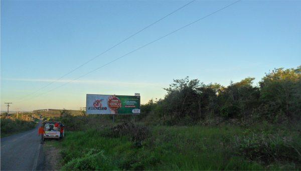 Placa 43: Rua Aristóteles Dantas, Mangalô – Entrada do Bairro