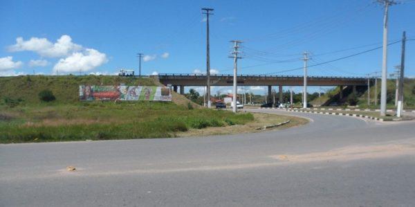 Placa 11: Av. Joseph Wagner, viaduto 3 (saída da cidade)