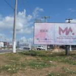 Placa 12: Av. Joseph Wagner, próxima da Marmoraria Ladrimar (entrada da cidade)