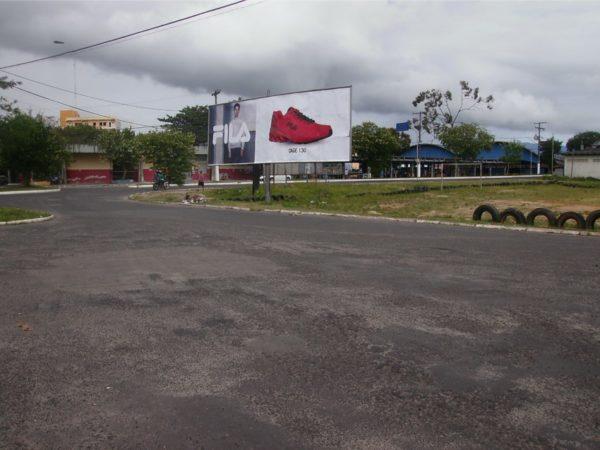 Placa 62: Rua Antônio Batista dos Santos, próxima da rodoviária de Pojuca