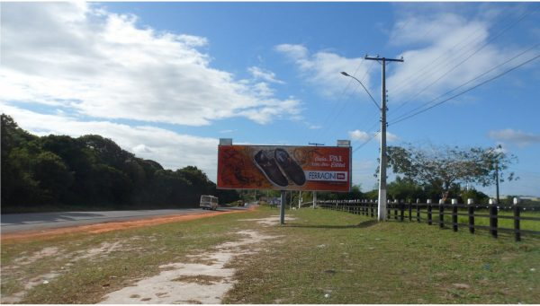 Placa 03: Rodovia BR-110, Parque de Exposições (1) – Entrada da Cidade