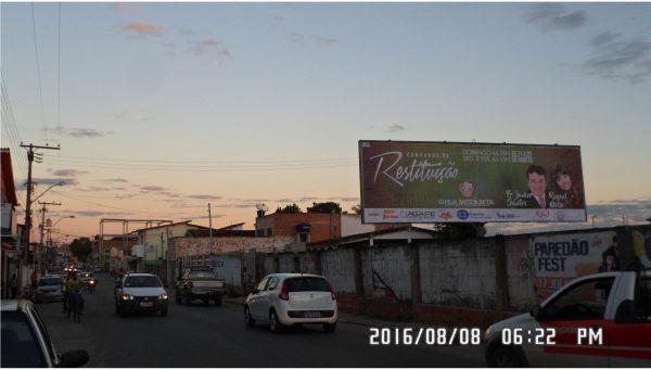 Placa 26: Rua Quintino Bocaiúva, Ferro-velho Exército de Cristo – Sentido Comércio