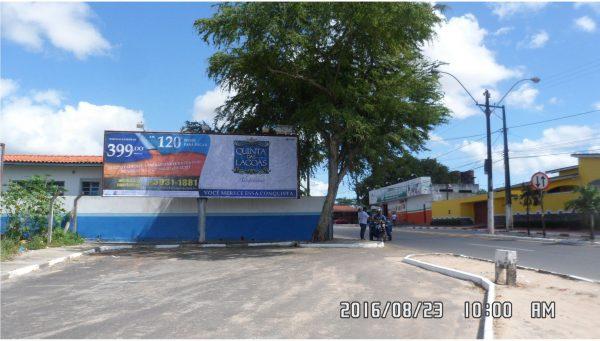 Placa 37: Avenida Airton Senna, Próximo Casa do Fazendeiro