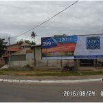 Placa 40: Rua Teresópolis, Viaduto – Sentido Comércio