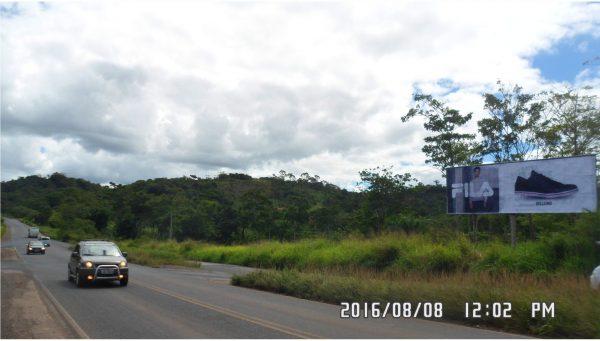 Placa 46: Rodovia Br-420/ Br-110, Entrocamento de Catu/ São Sebastião